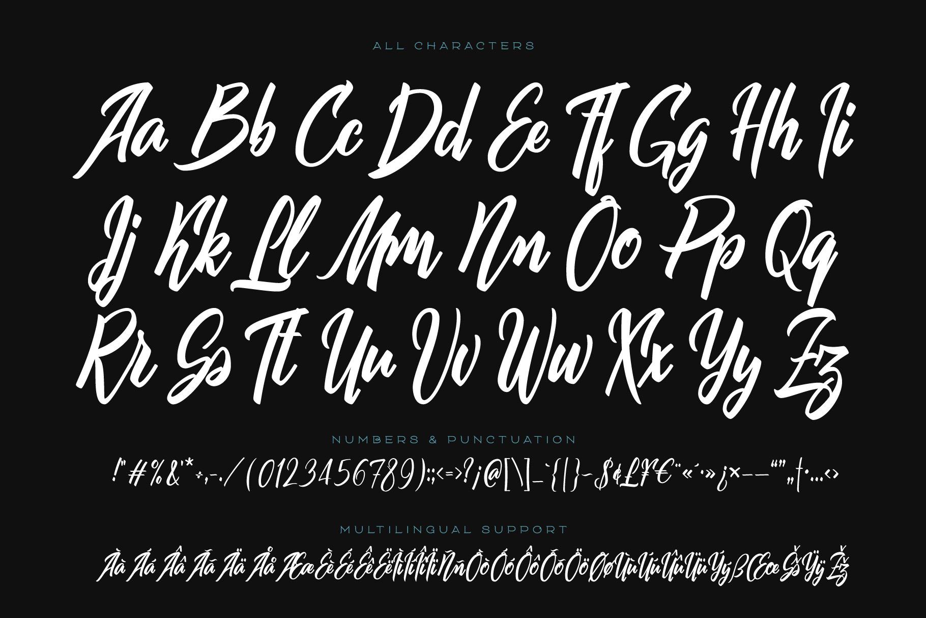 Squidink font & graphics example image 5