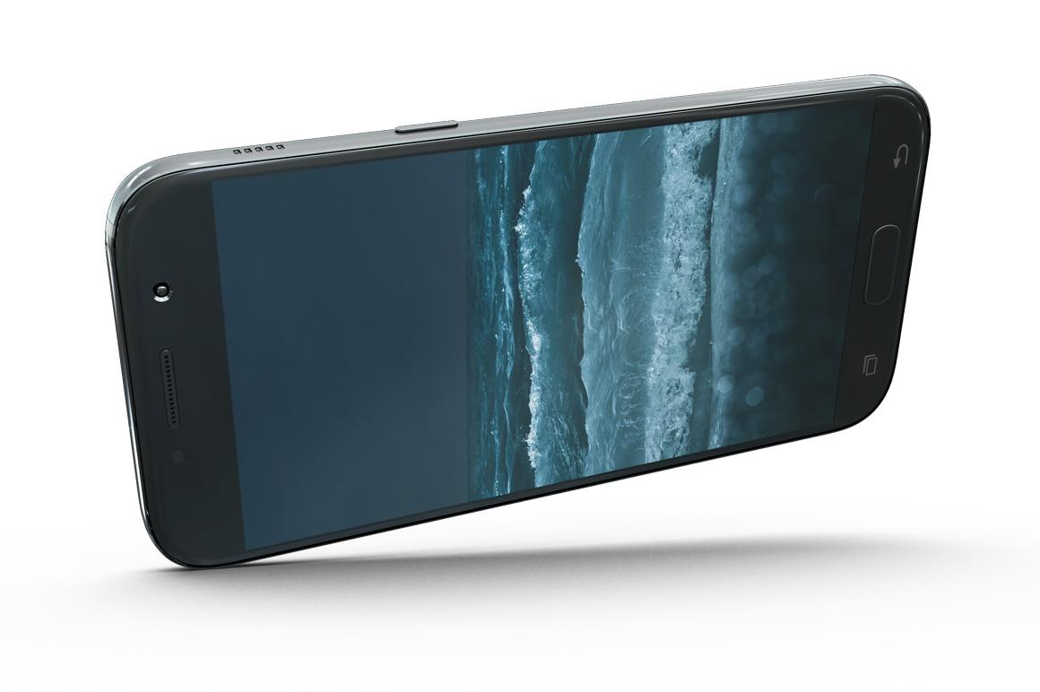 Samsung Galaxy A7 Mockup example image 6