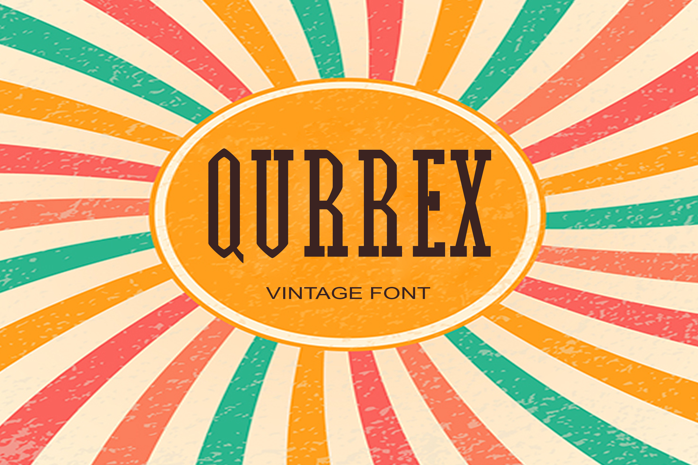 Qurrex Font example image 1