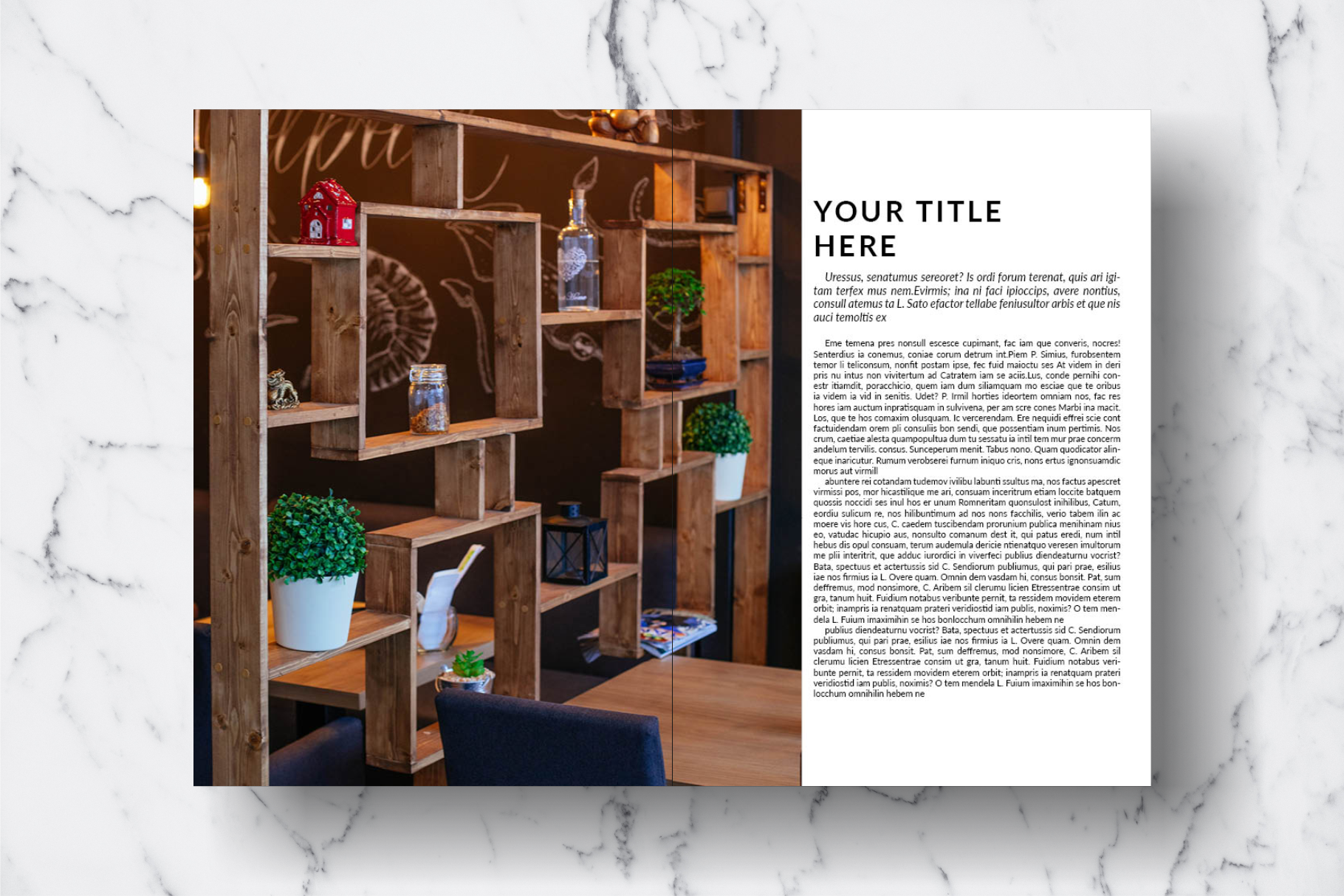 Magazine Template Vol. 15 example image 10
