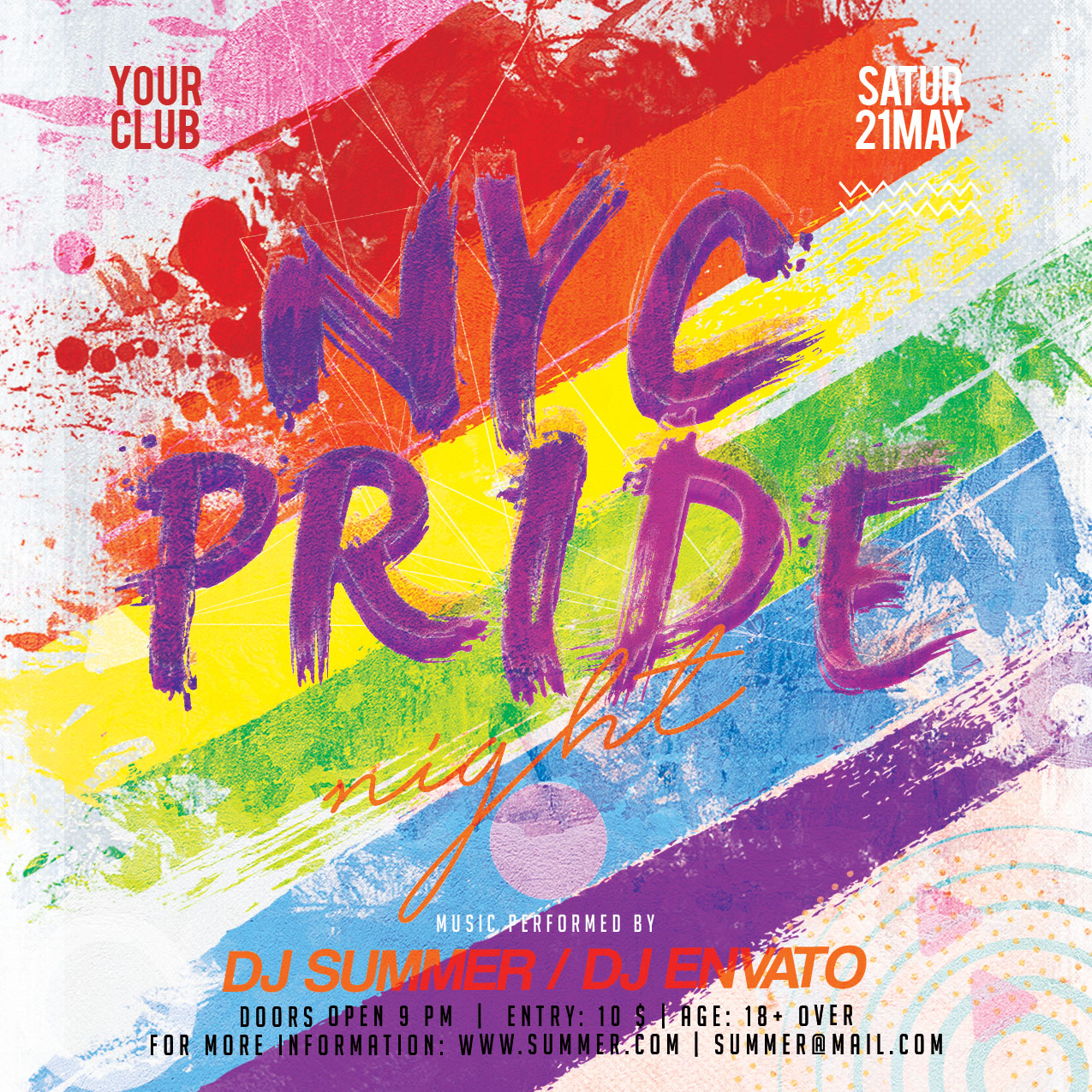 Pride Flyer example image 4