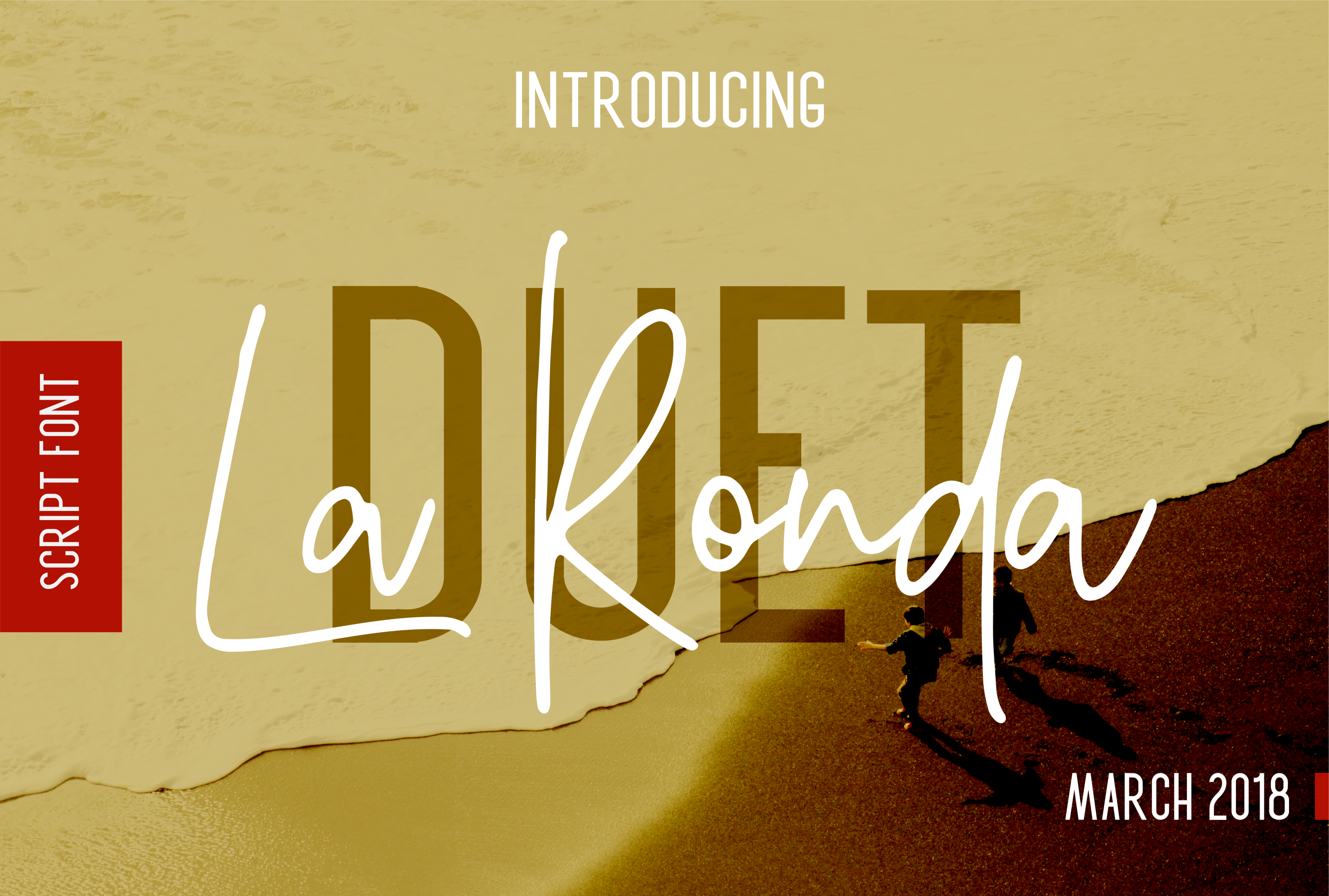 La Ronda Signature Font example image 1
