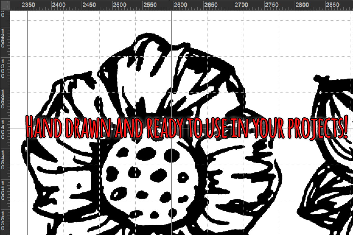 130 Lovely Spring Flowers Hand Drawn Graphics example image 4