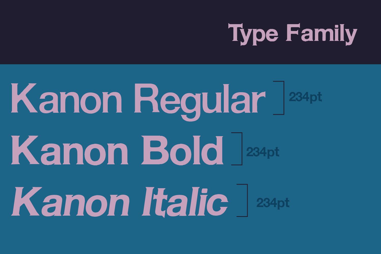 Kanon - Serif Font example image 2