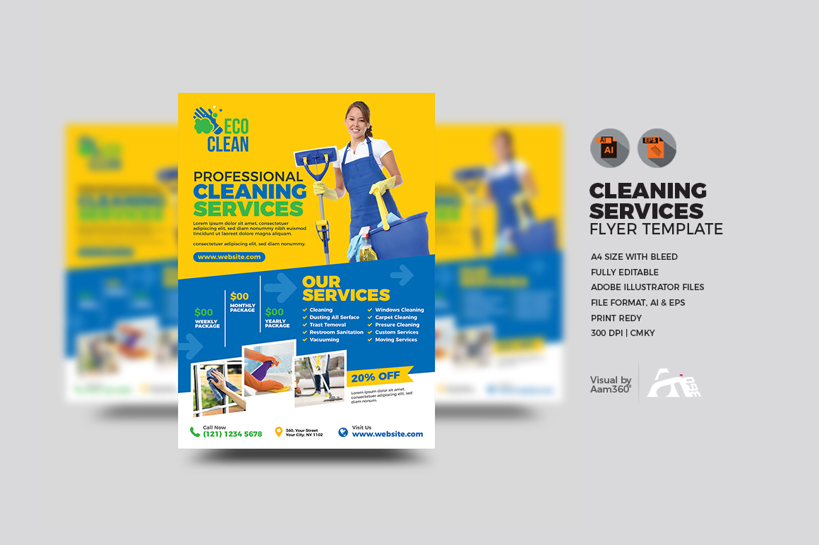 Cleaning Services Flyer example image 1