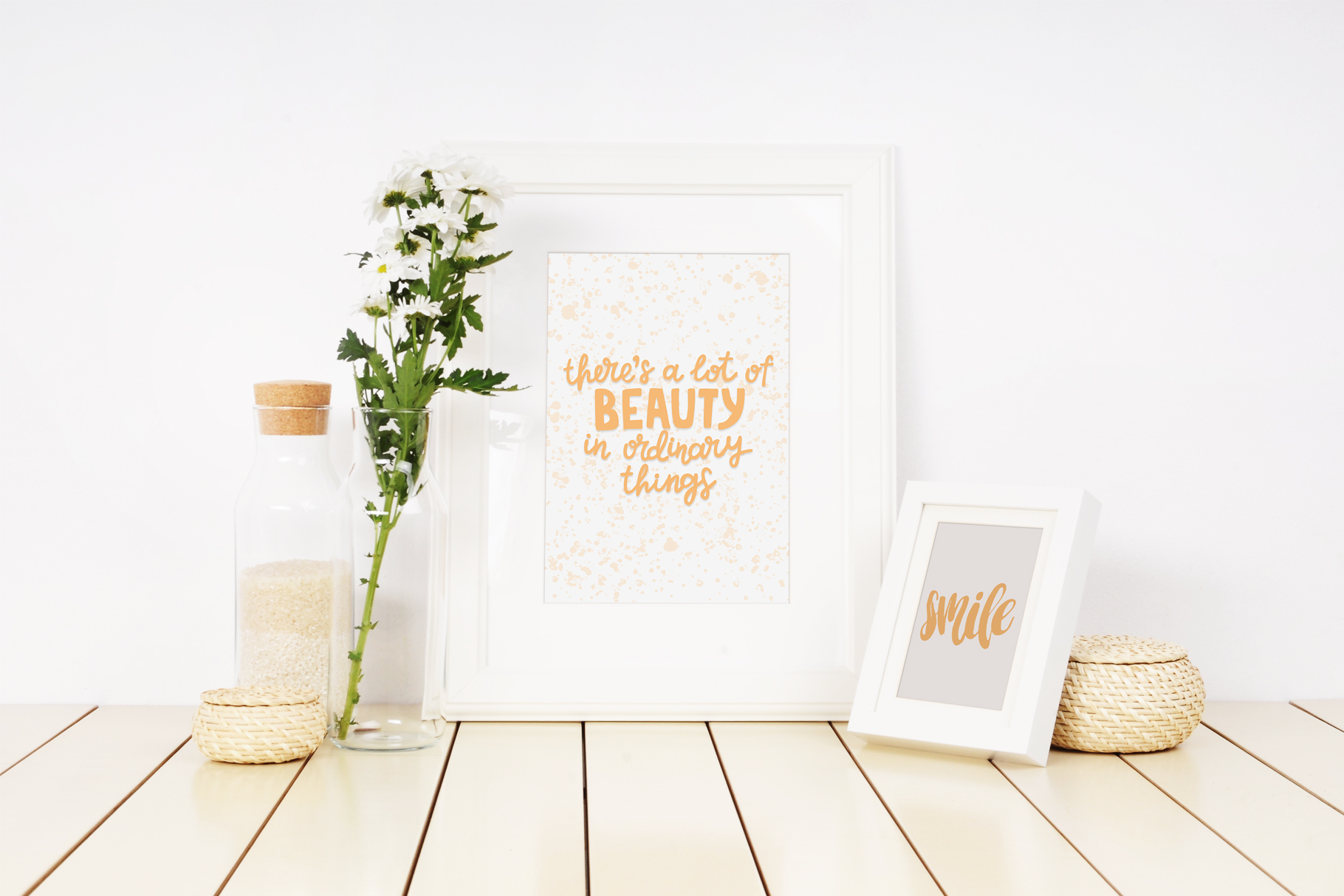 Good vibes only lettering pack example image 5