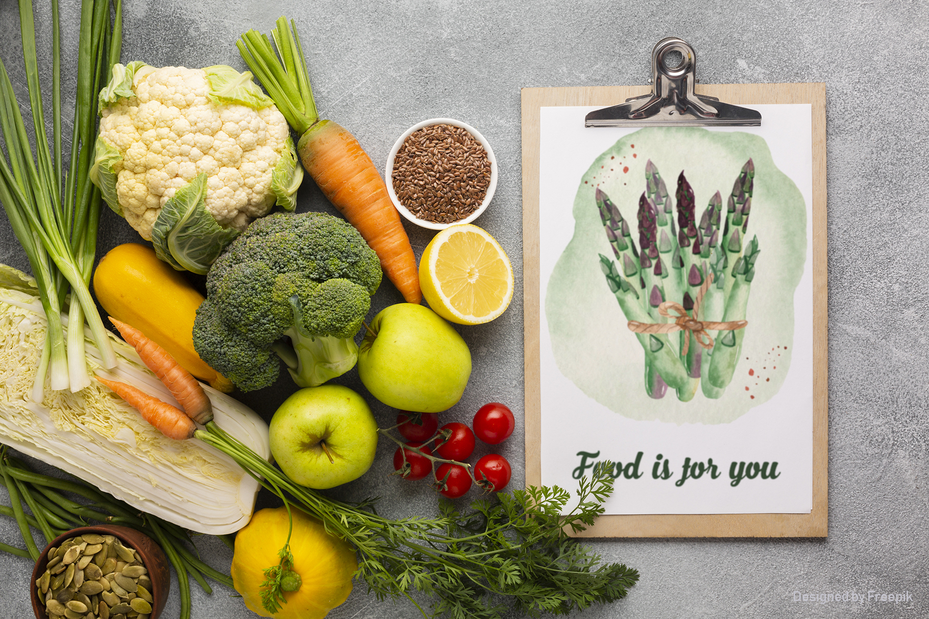 Vegetables and herbs Watercolor collection Clipart example image 3
