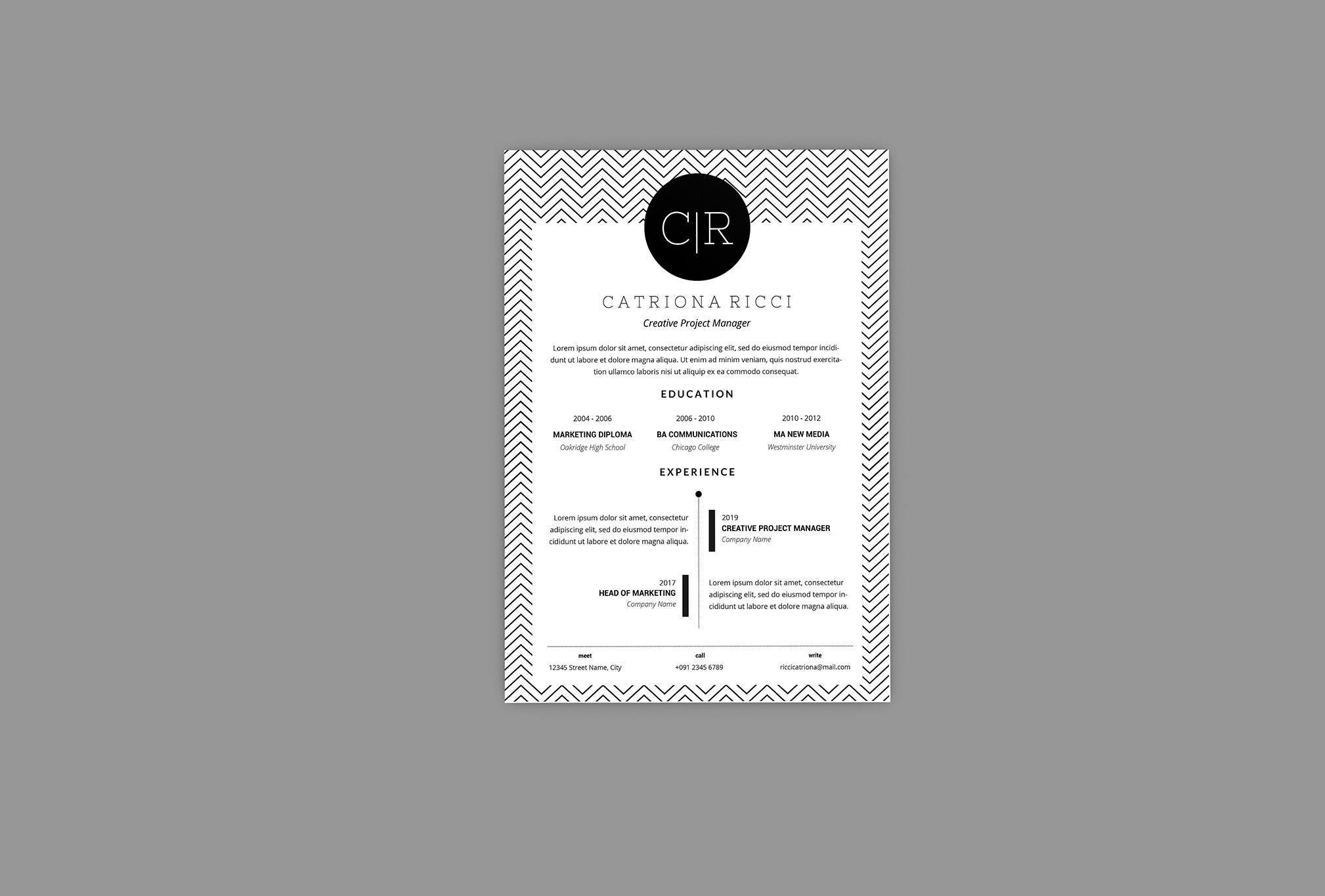 Carry Resume Designer example image 4