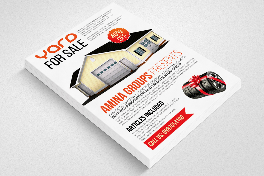 Latest Garage Sale Flyer templates example image 3