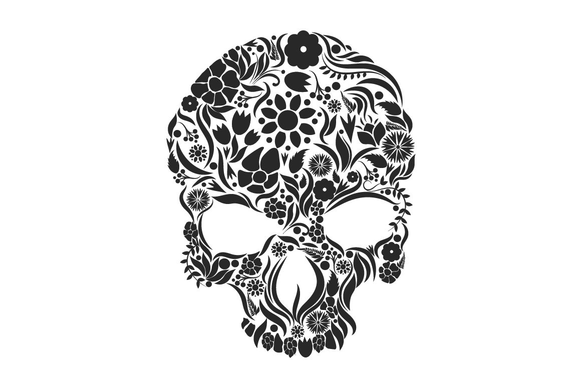 Herbs Skull example image 6