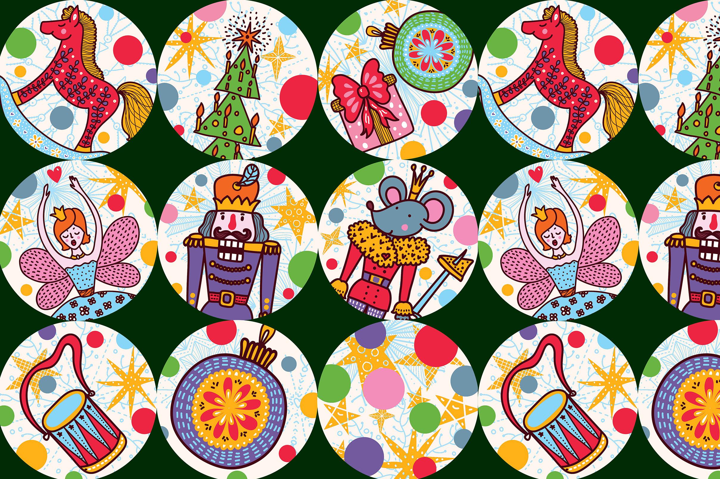 Nutcracker. Christmas story. example image 11