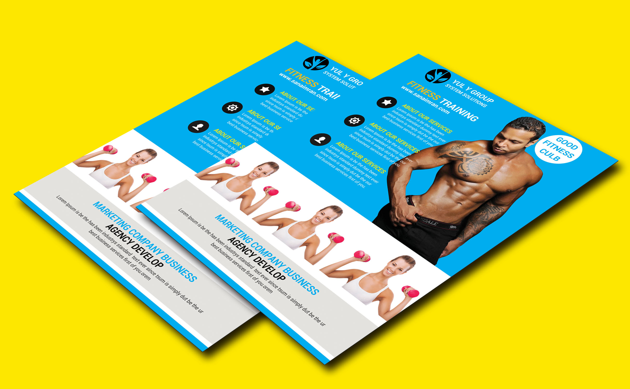 fitness flyer example image 4