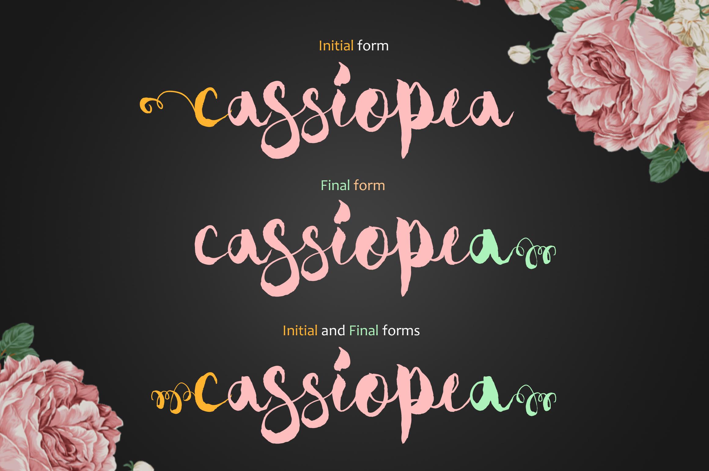 Cassiopea example image 4