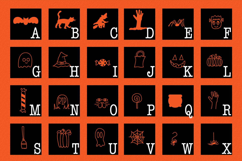 SpookySquad - Dingbat Font  example image 6