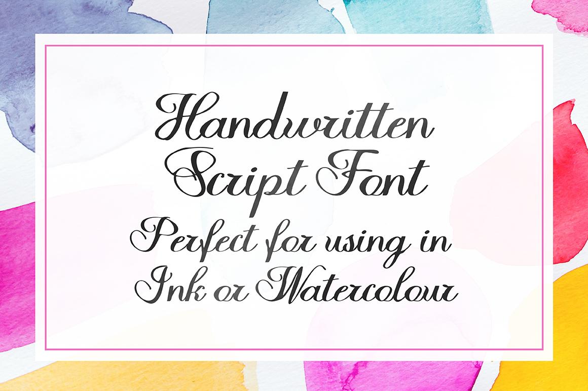 Halfesika Script example image 7