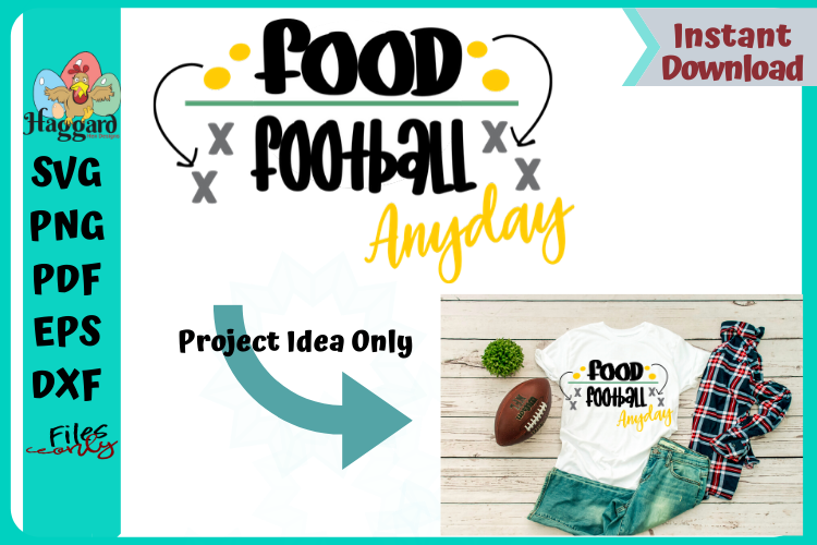 Food Over Football example image 3