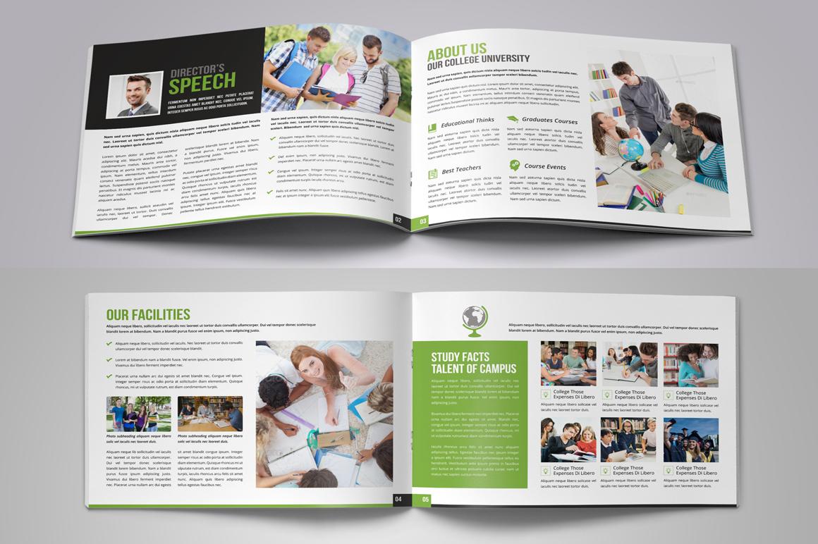 Education Prospectus Brochure Bundle example image 7