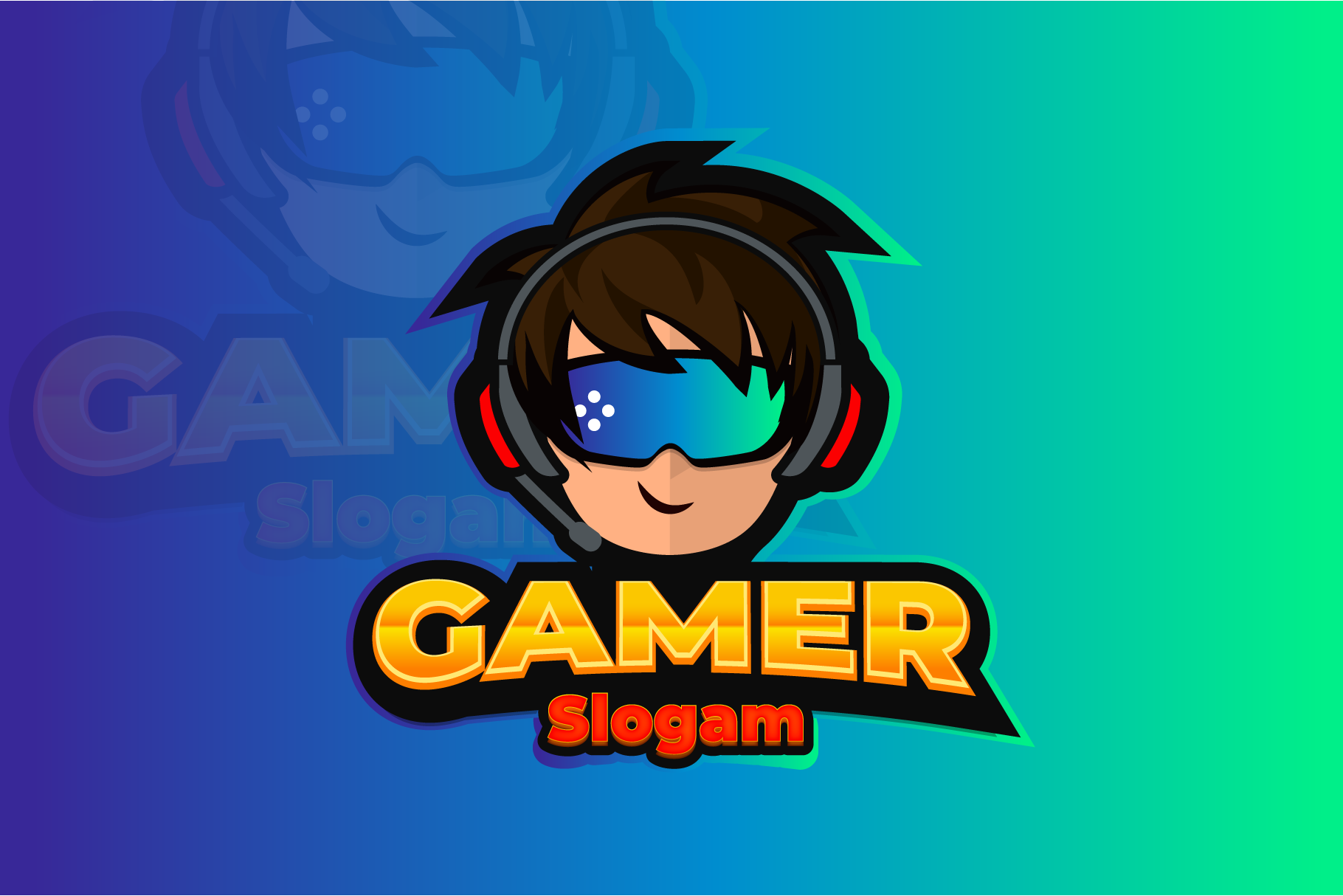Gaming Logo Design example image 1