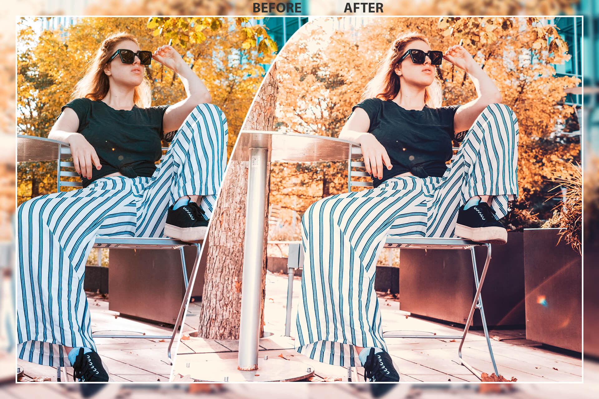 50 Autumn Mobile Lightroom Presets example image 3