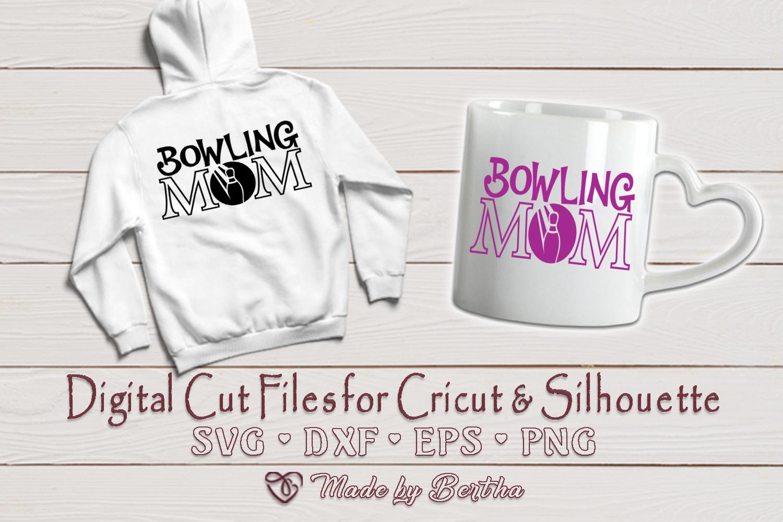 Bowling Mom svg, Mom svg, Bowling Ball SVG - Digital Cut example image 2
