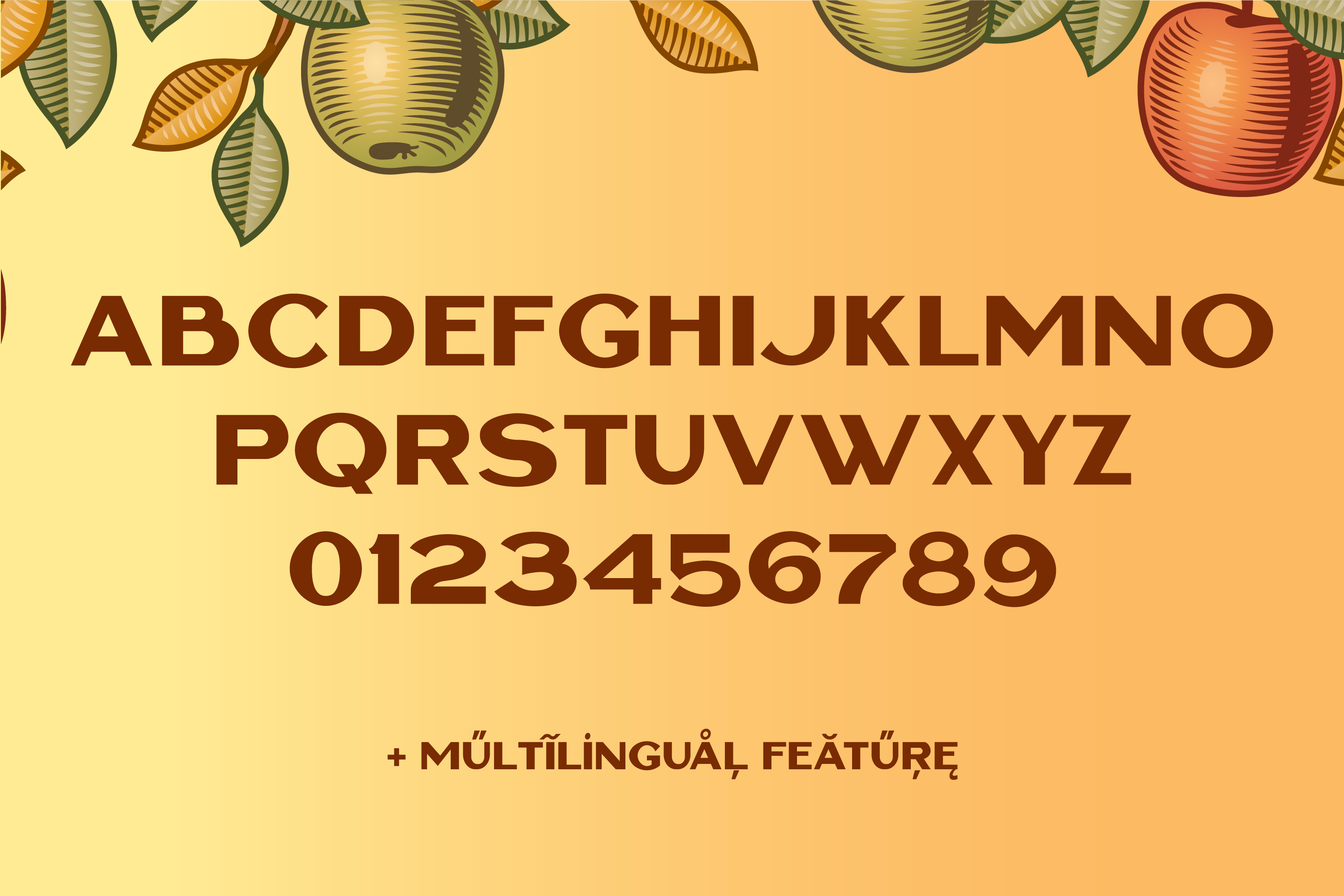 Cottage Sans - 1950's Style example image 2