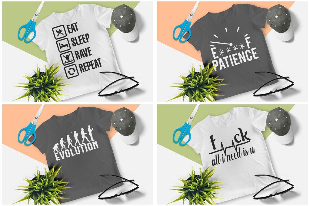 200 Printready Tshirt Design Mega Bundle example image 10