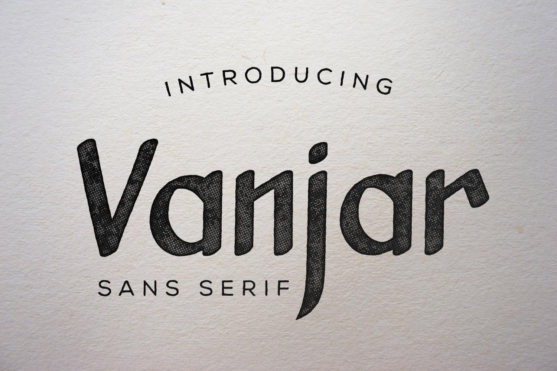 Vanjar - Sans Serif example image 1