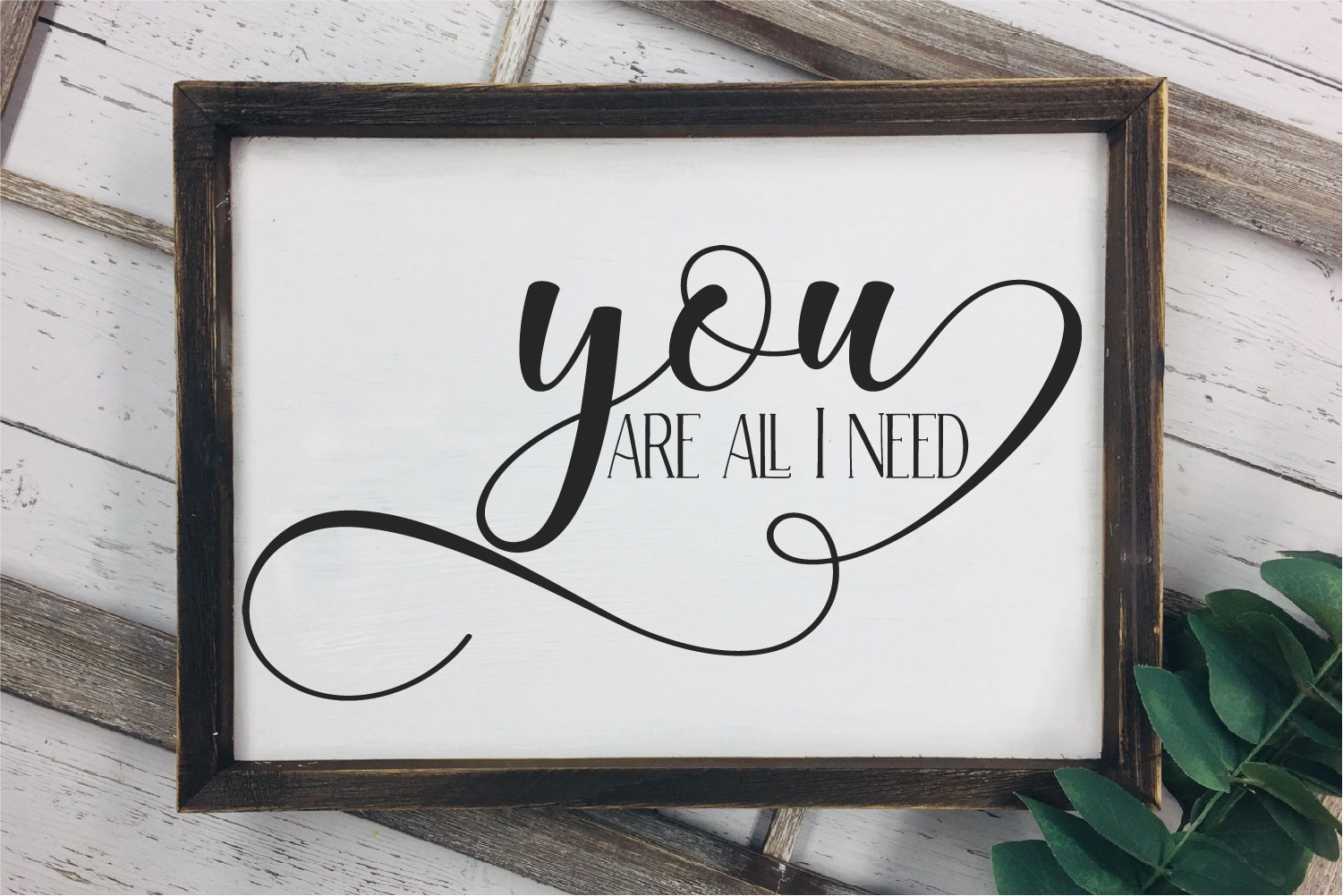 You Are All I Need SVG, Wedding, Love, Sublimation example image 1