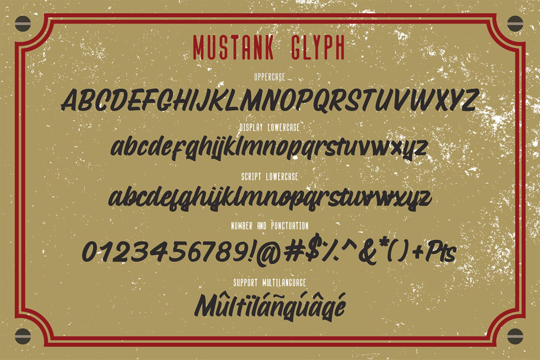 Mustank Casual Script example image 2