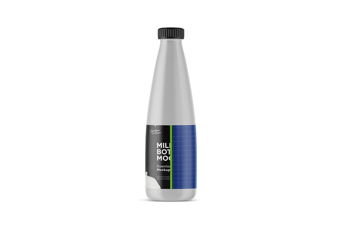 Milk Bottle Mockup example image 5