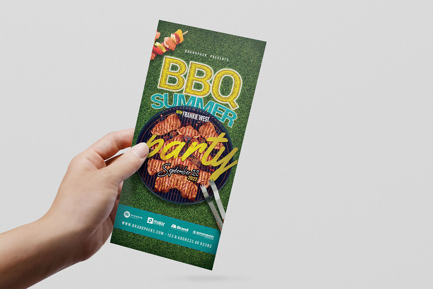 BBQ Cookout Flyer Template example image 6