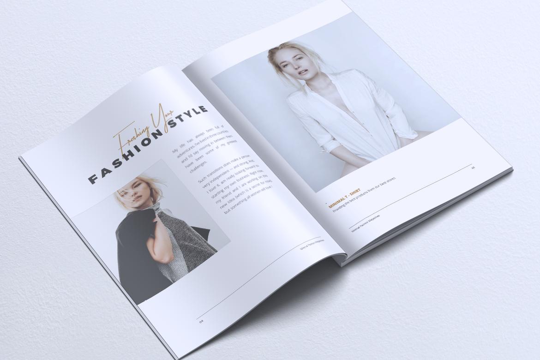 MINIMAL Lookbook Magazines Fashion example image 4