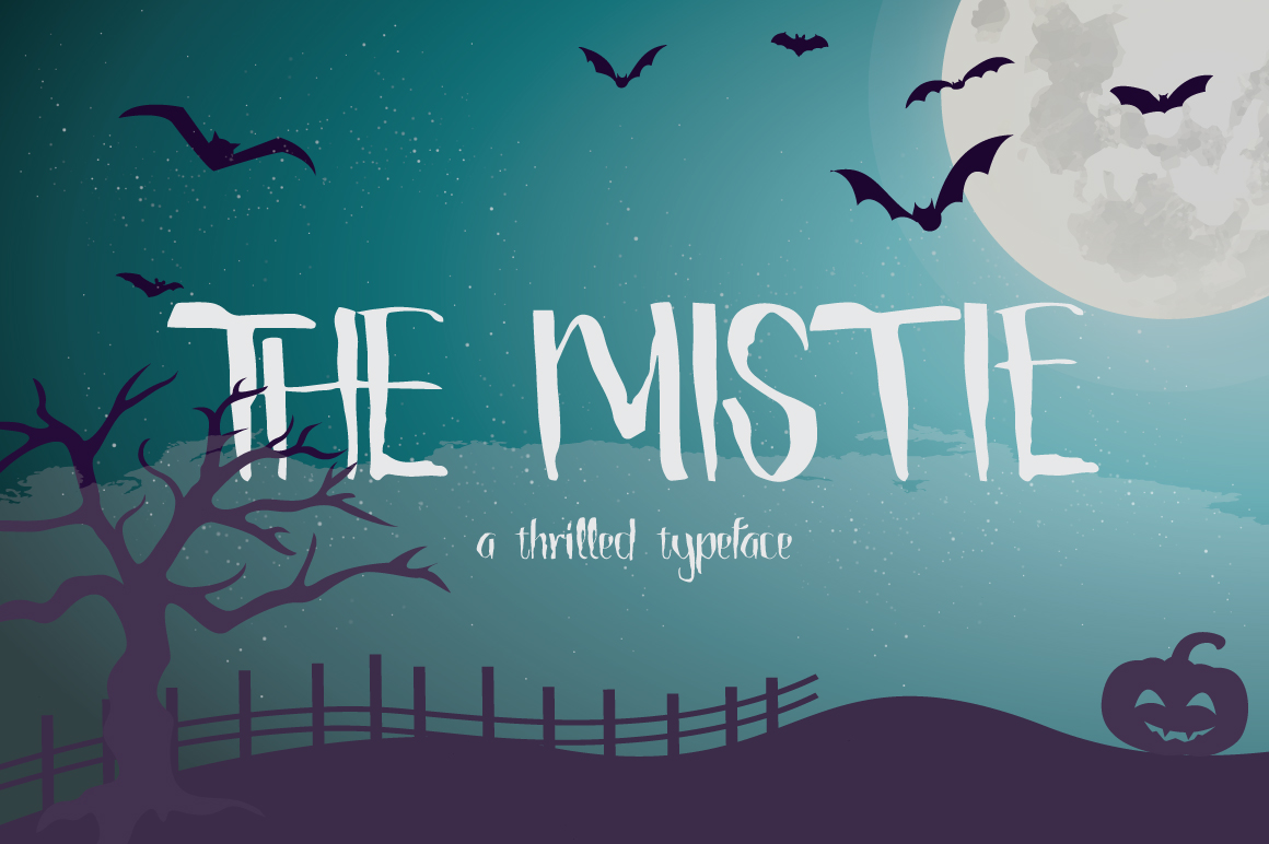 The Mistie Typeface example image 1