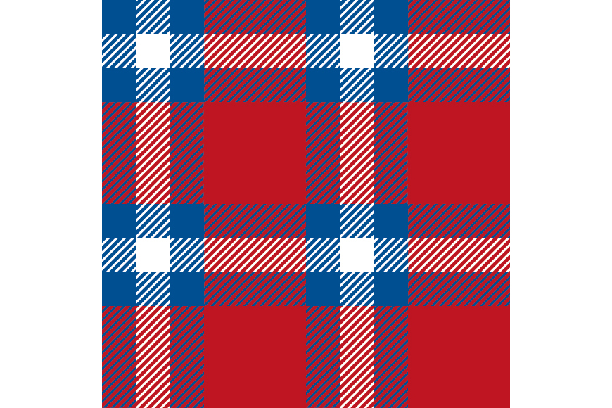 Set of 12 seamless vector tartan backgrounds.  example image 8