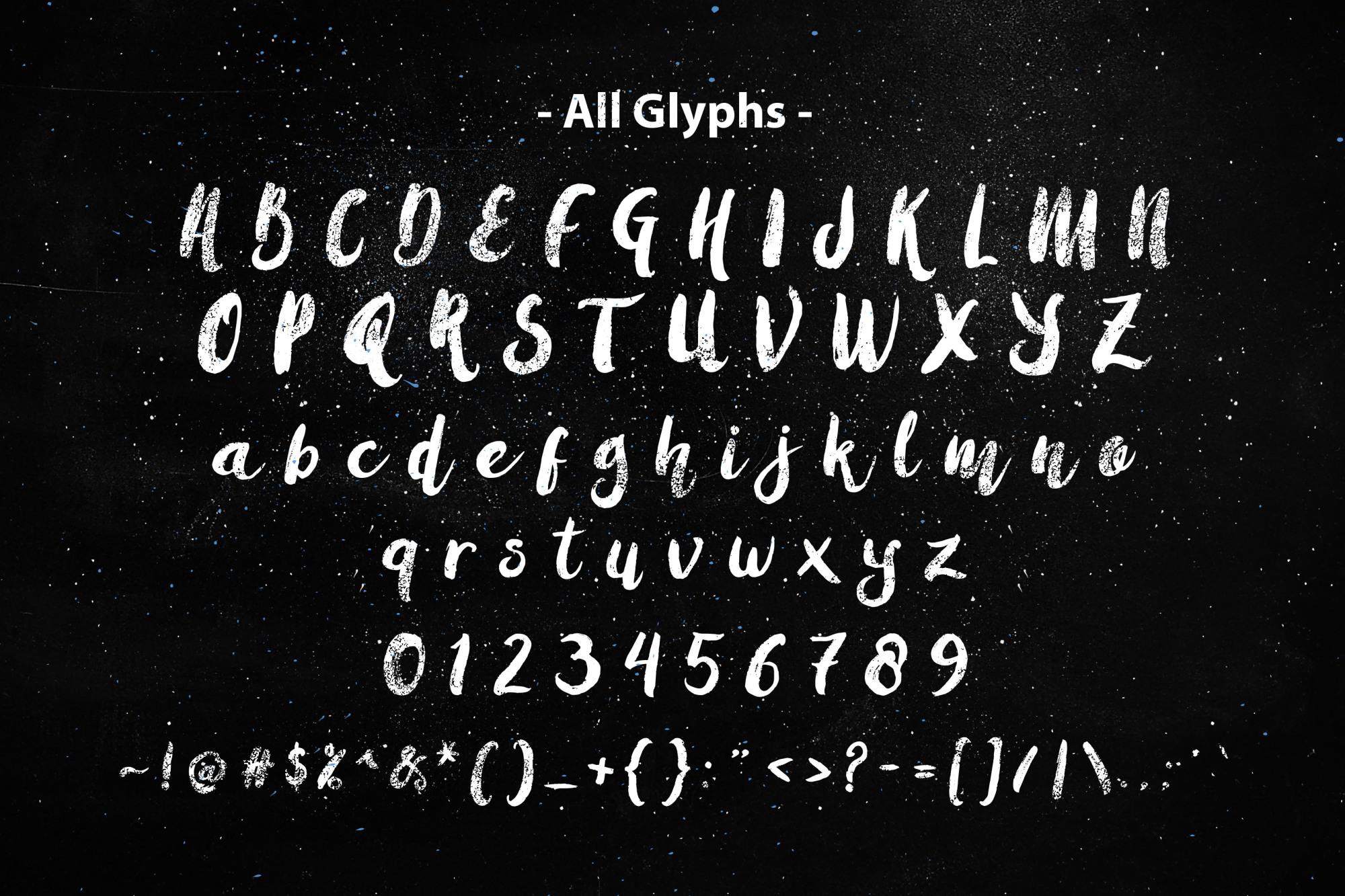 All Glyphs