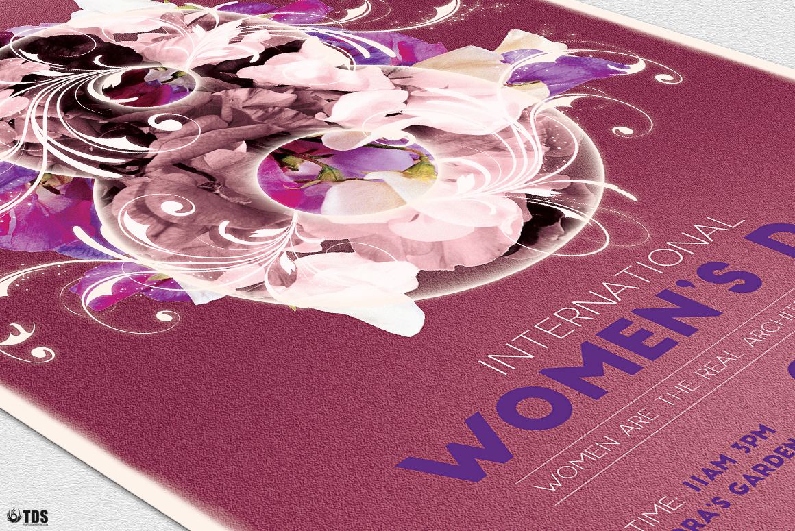 Womens Day Flyer Template V1 example image 6