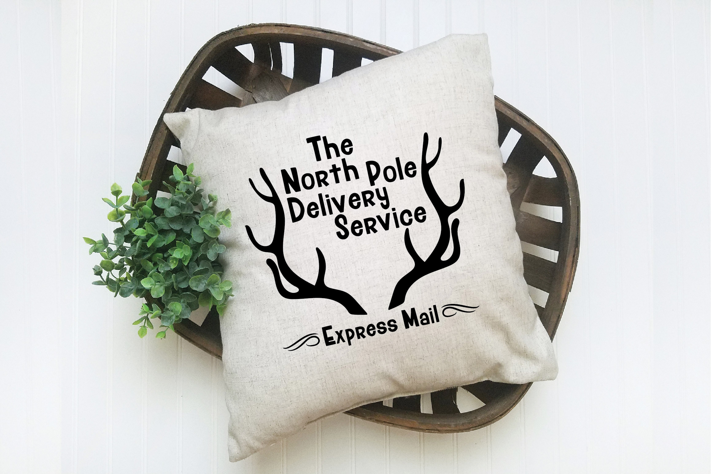 Christmas SVG Cut File - North Pole Delivery Service SVG DXF example image 7