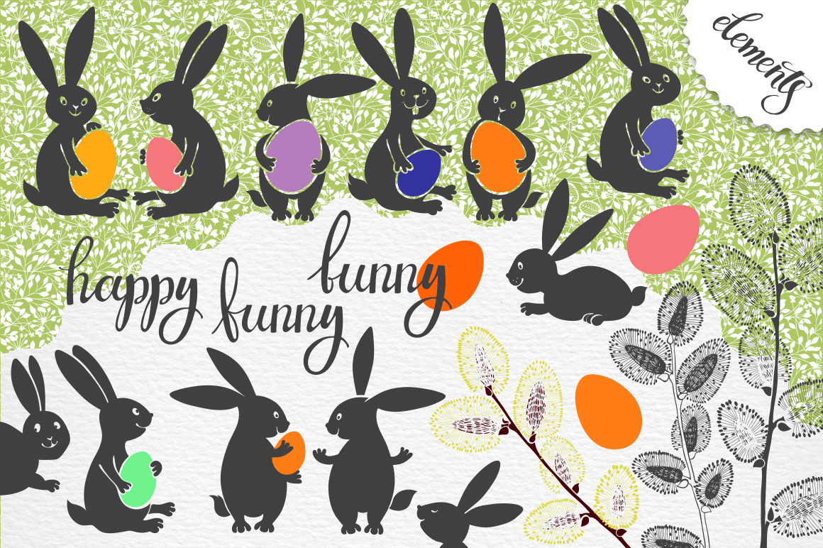 Funny Easter bunnies example image 2