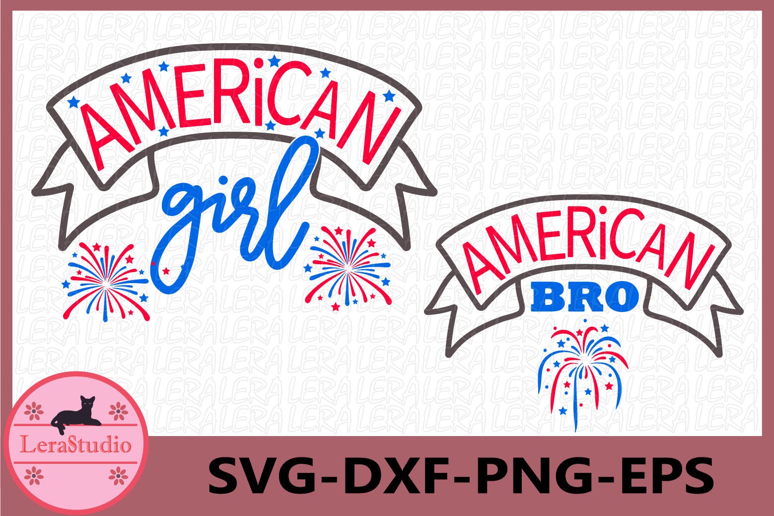 4th of July, American girl svg, American Bro svg, July 4th example image 1