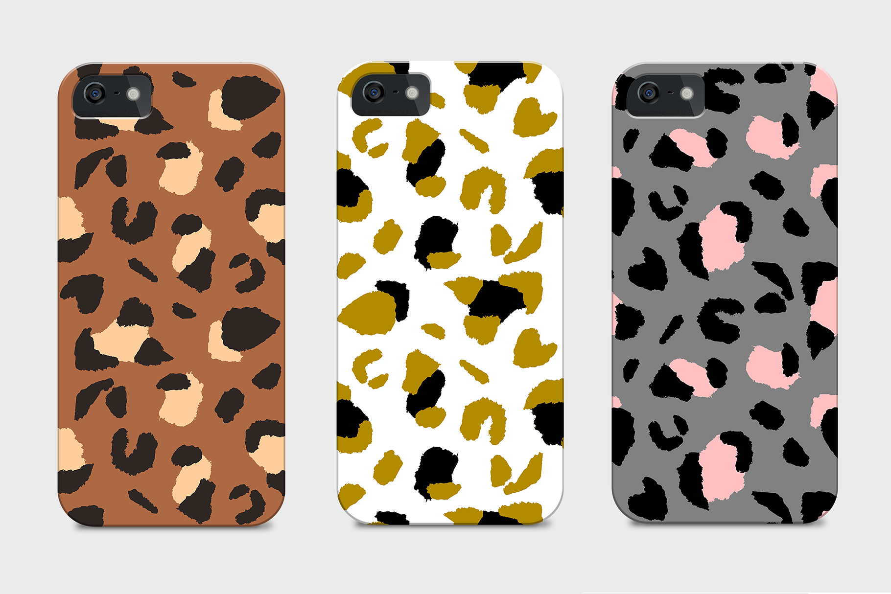 Trendy Leopard Seamless Patterns example image 4