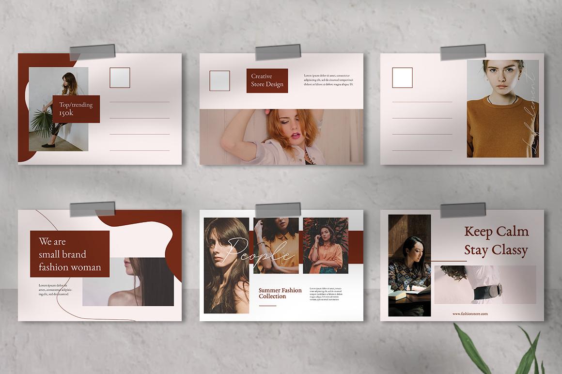Alvida Postcard Templates example image 5