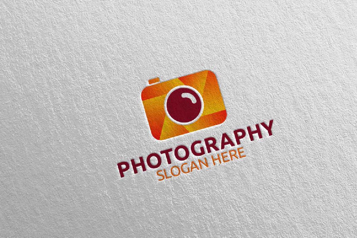 Abstract Camera Photography Logo 9 example image 5