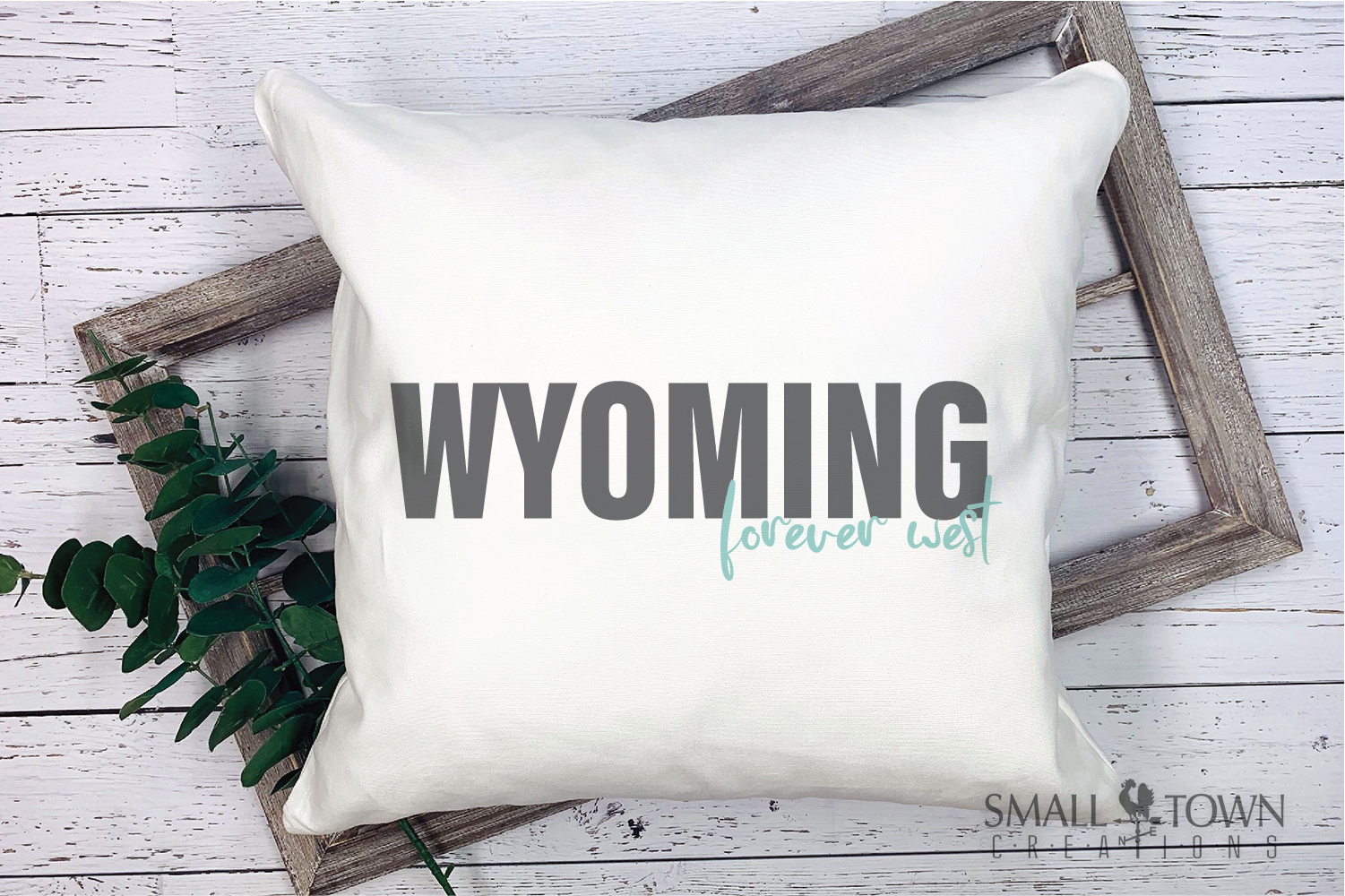 Wyoming, Forever West - slogan, Logo, PRINT, CUT & DESIGN example image 5
