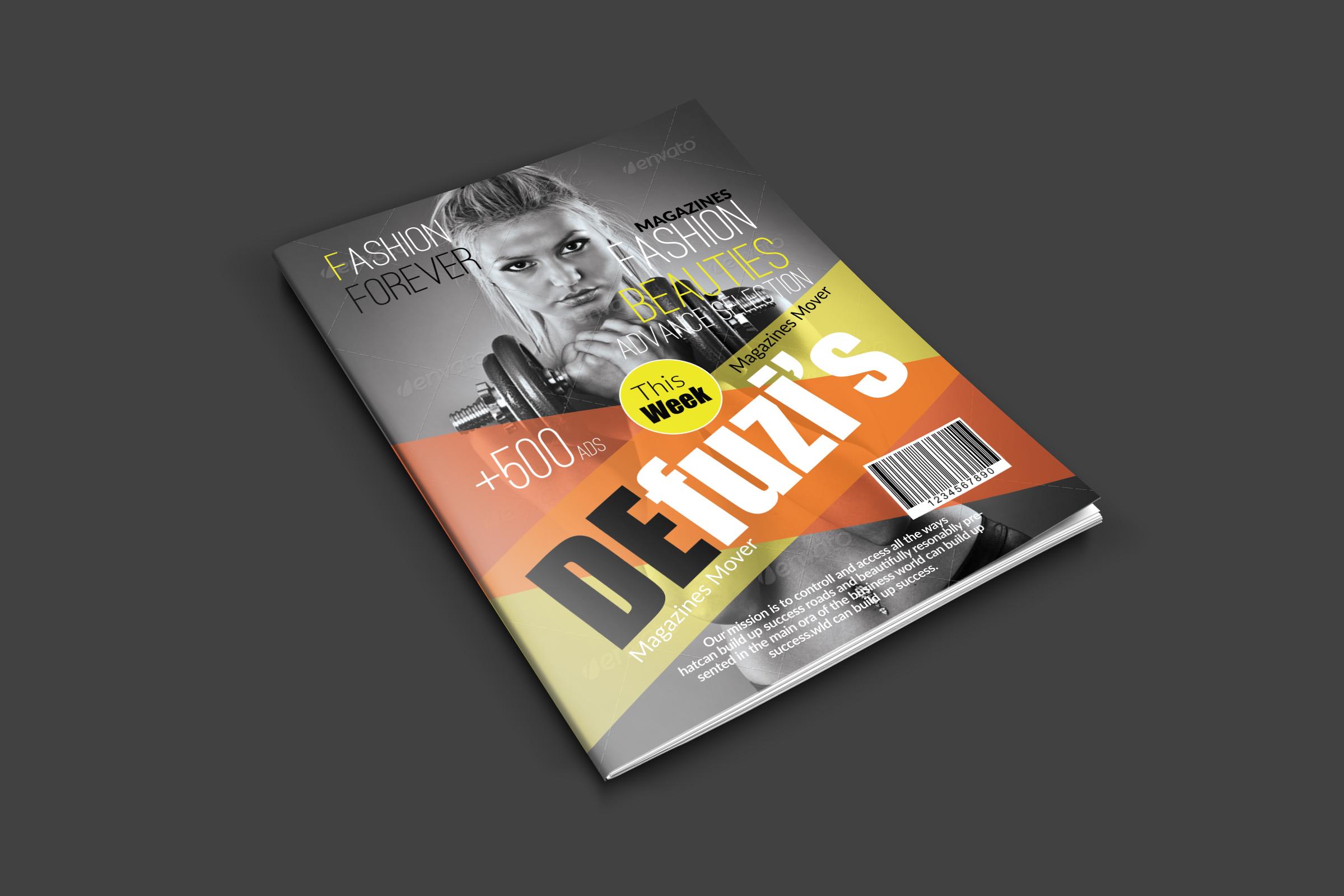 Body Fitness Magazine Cover example image 2