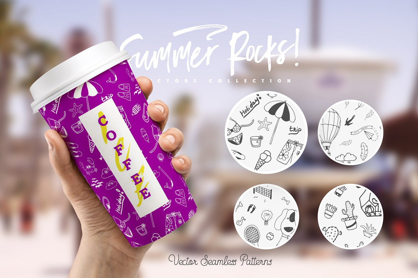 Summer Rocks! Vectors Collection example image 4