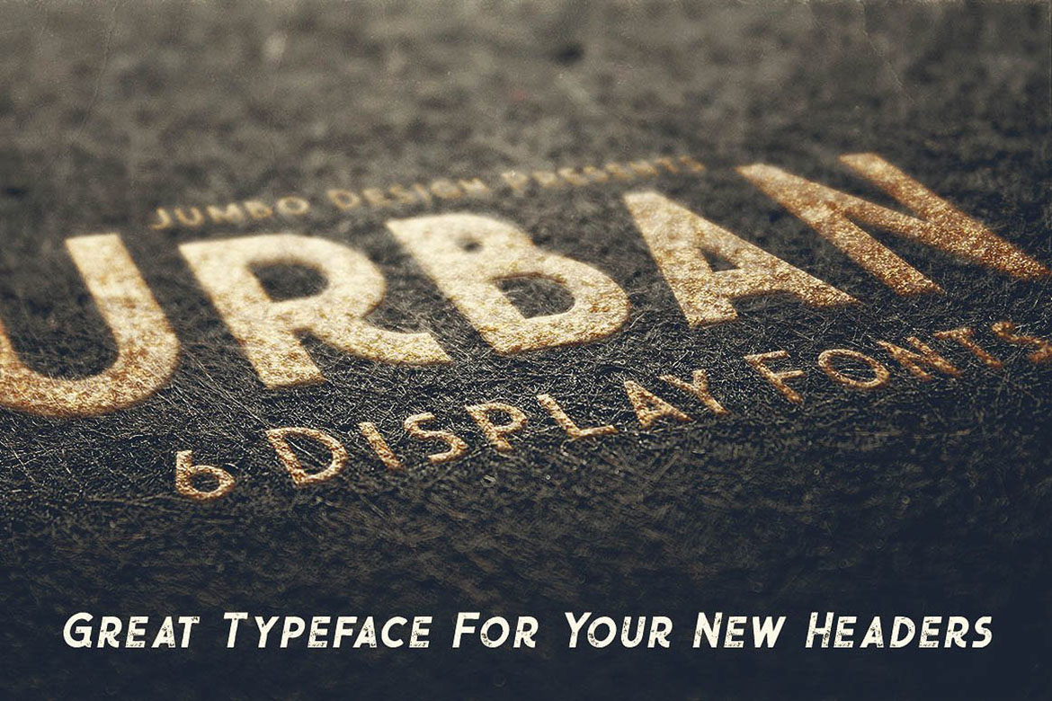 Urban - Display Style Font example image 4