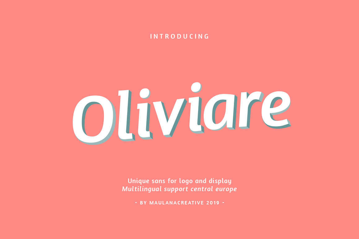 Oliviare Typeface example image 1