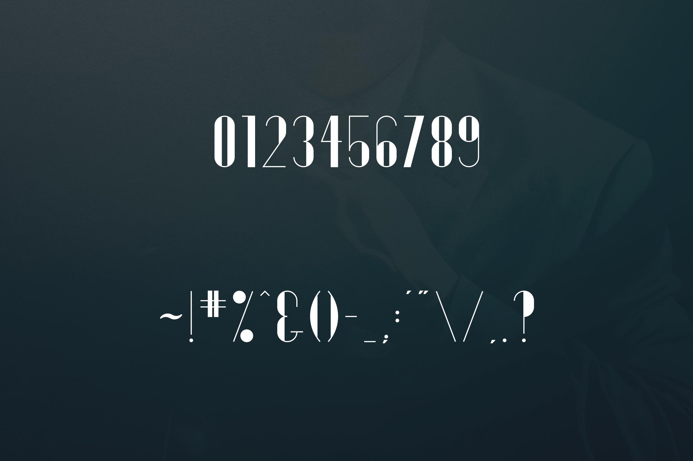 Gentleman font  10 Logo Templates example image 6