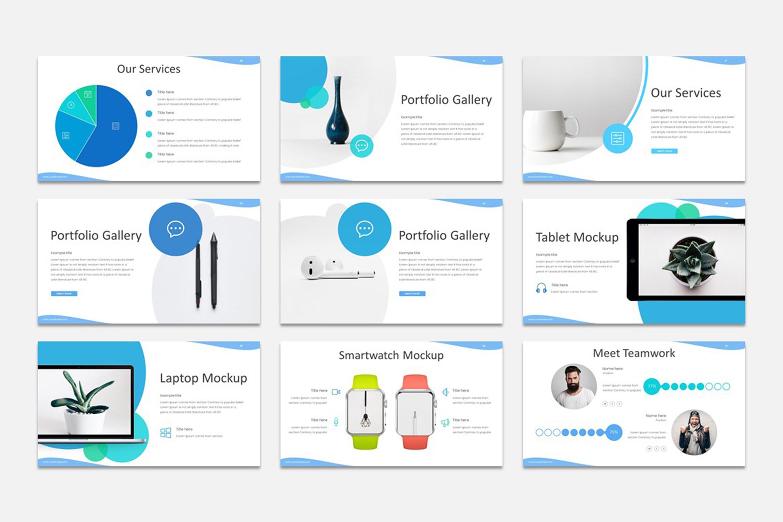 Milde - Multipurpose Google Slides Presentation Template example image 3