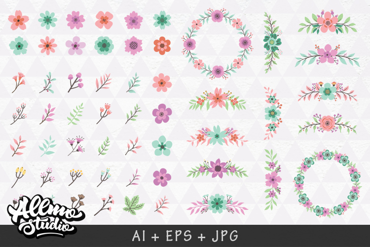 Beautiful Floral element example image 2
